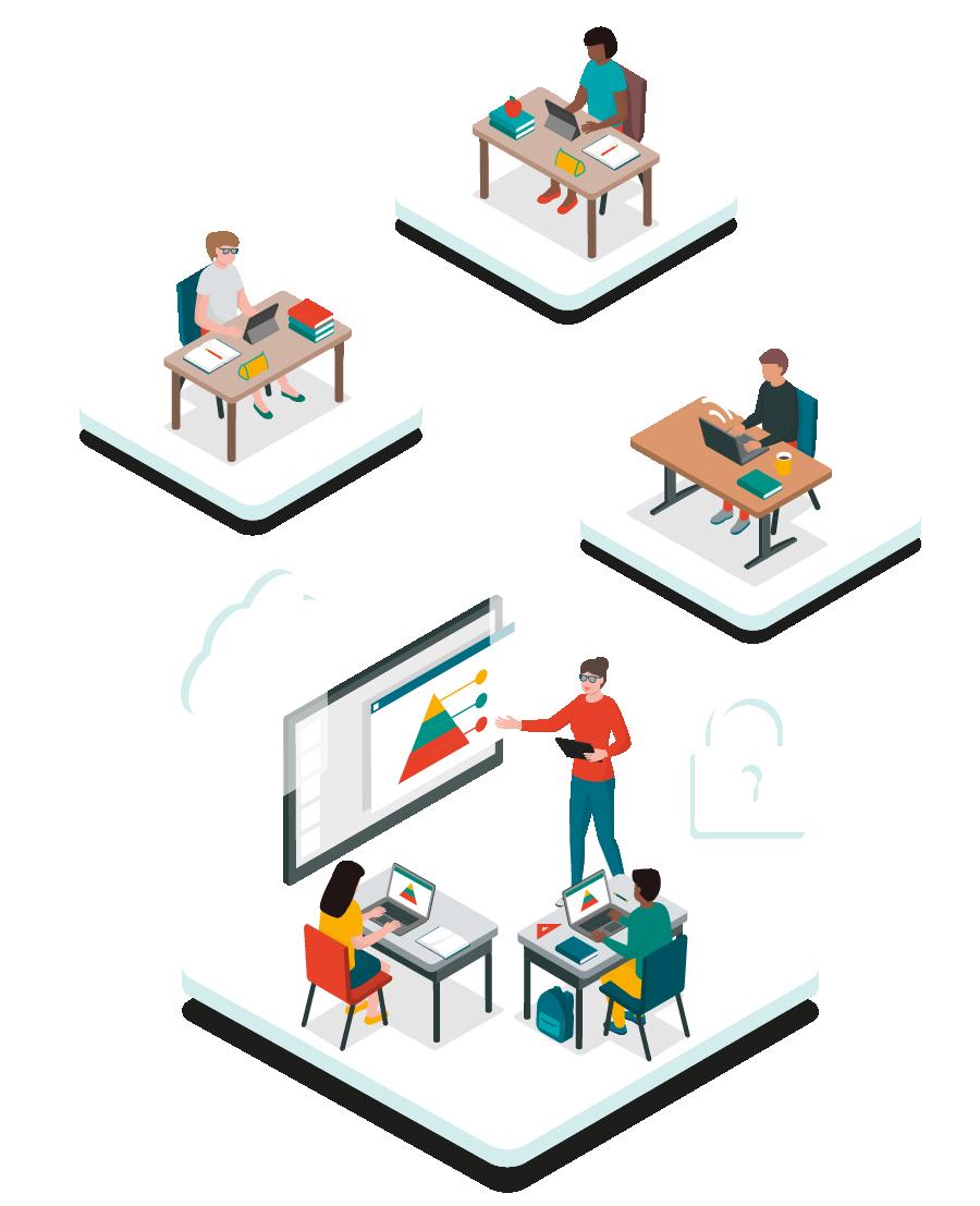 K12 hybrid learning security success kit hero image